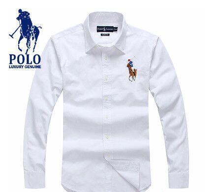 Marein – camisa polo ralph lauren masculina social bc504f915bbce