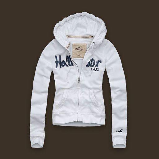 Blusa Moletom Hollister Feminino na Import Clothes 4c7c409774