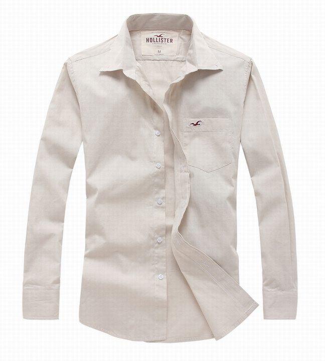 794f0a72e Camisa Social Hollister Masculina na Import Clothes