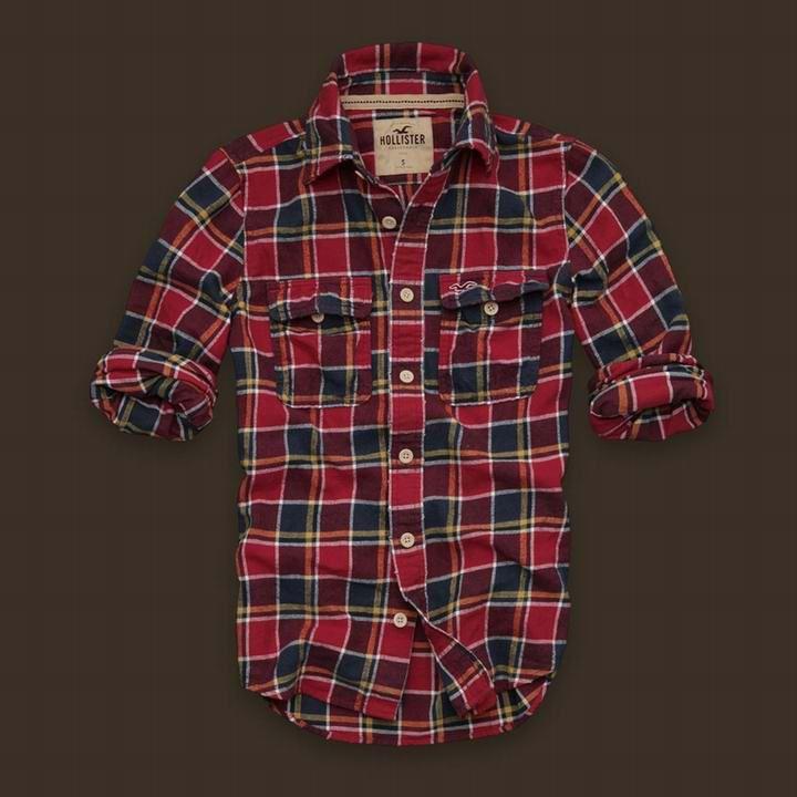 Camisa Xadrez Hollister Masculina na Import Clothes d81e791d5d6e9