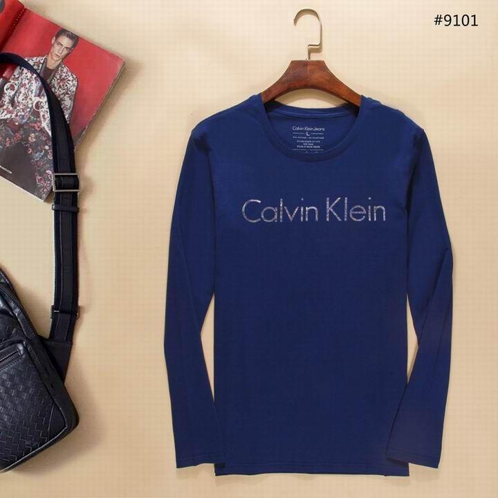 Camiseta Manga Longa Calvin Klein Masculina na Import Clothes 2a9a63fca10