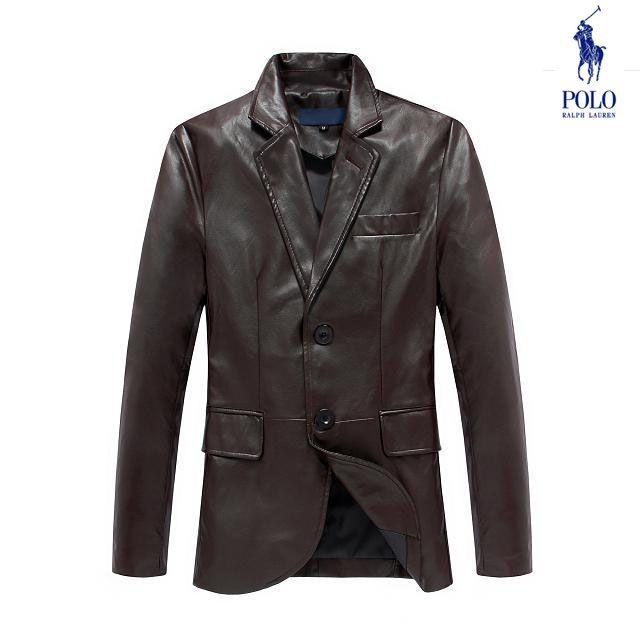 b184361c0743e Jaqueta de Couro Ralph Lauren Masculino na Import Clothes