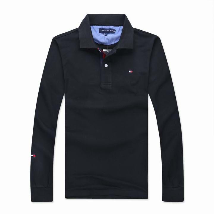Polo Manga Longa Tommy Hilfiger Masculino na Import Clothes 7a4a7978e77ca