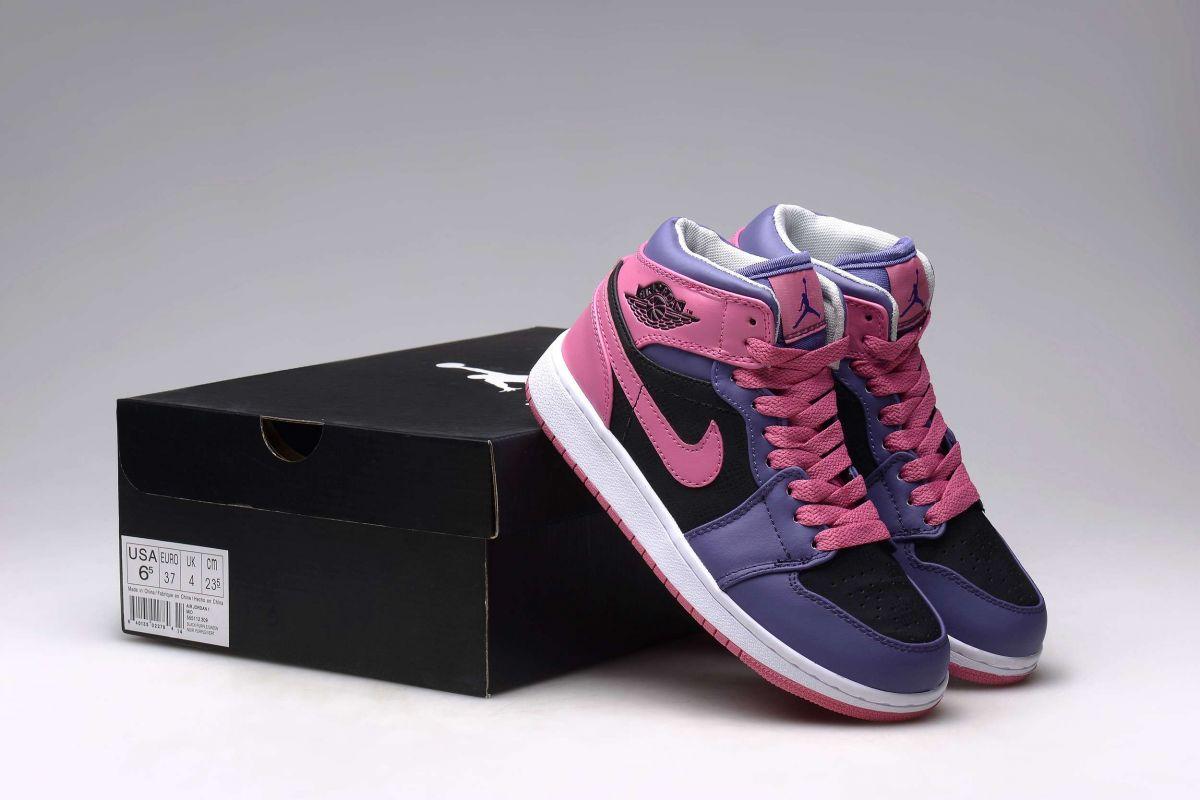 b59503d1472 Tênis Nike Air Jordan 1 Retro High Feminino na Import Clothes